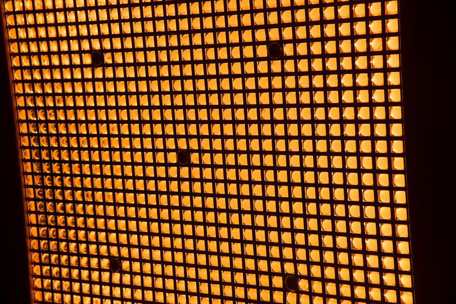 Orange Light Panel