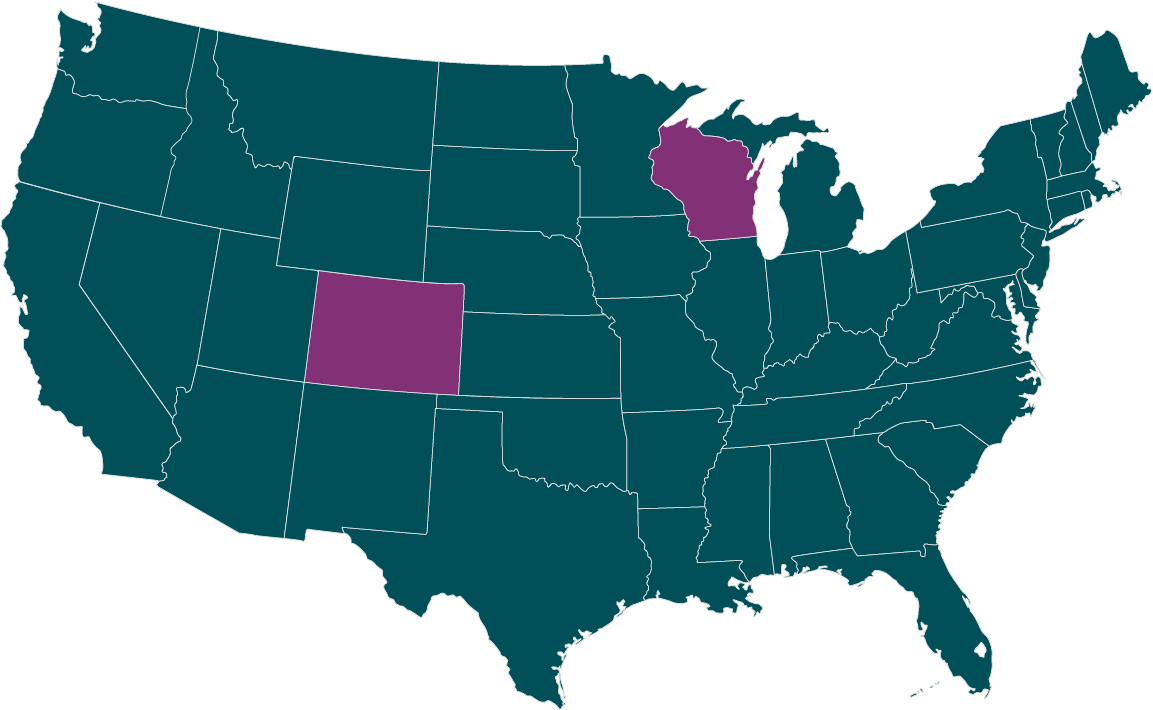 Sensory Club Locations Map